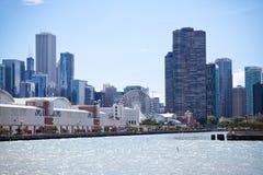 Chicago marinpir Arkivfoto