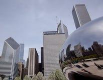 Chicago-Marksteine Stockfoto