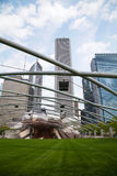 Jay Pritzker Pavilion in Millennium Park in Chicago Royalty Free Stock Photos