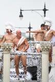 Chicago Men Gay Pride Parade Stock Photos