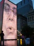 Chicago-Mengenbrunnen Lizenzfreie Stockbilder