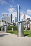 chicago milenium parka przejście Zdjęcia Stock