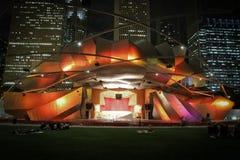 chicago milleniumpark Royaltyfria Foton