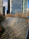 chicago milleniumpark Arkivfoto