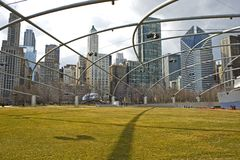 Chicago Millennium Park USA Stock Image