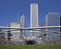 Chicago Millennium park stock photos