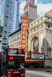 Chicago miniatury strzał Zdjęcia Stock