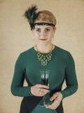 Chicago mode av 30-tal Arkivbild