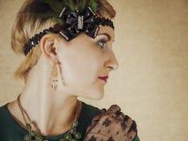 Chicago mode av 30-tal Royaltyfri Bild