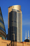 Chicago Modern Architecture. Modern highrise located in downtown Chicago Stock Photos