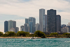 Chicago Modern Buildings Royalty Free Stock Photo