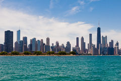 Chicago Modern Buildings Stock Photography
