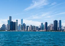 Chicago Modern Buildings Royalty Free Stock Photography