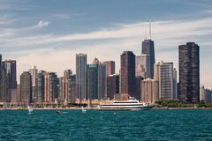 Chicago Modern Buildings Stock Photo