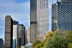 Chicago modern buildings. City modern buildings, Chicago, Illinois, United States Royalty Free Stock Photography