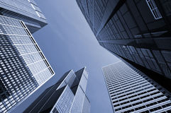 Chicago modern office buildings. Stock Image