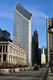 chicago morgongata Arkivbilder