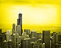 chicago morning Stock Image