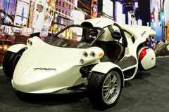 Chicago Motorcycle Show -T rex Trike royalty free stock photo