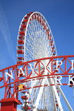 Chicago Navy Pier Ferris Wheel Royalty Free Stock Photos