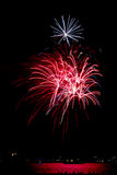 Chicago Navy Pier Fireworks Royalty Free Stock Photos