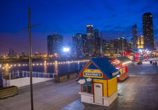 Chicago Navy pier Royalty Free Stock Images