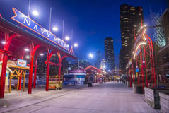 Chicago Navy pier Royalty Free Stock Photography