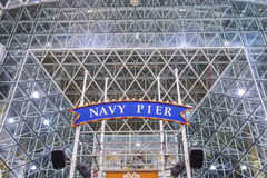Chicago Navy pier Royalty Free Stock Photo