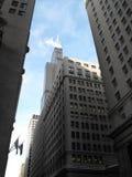 Chicago - ner stadhimmel arkivfoto