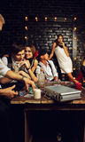 Chicago Nightlife Stock Photography