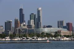Chicago no verão Imagens de Stock Royalty Free