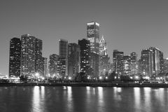 chicago noir Arkivbild