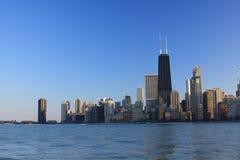 chicago norr horisont Royaltyfria Bilder