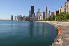 Chicago norrsida Fotografering för Bildbyråer