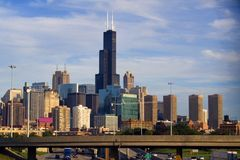 Chicago from the north Royalty Free Stock Photography