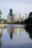 Chicago from the north side Royalty Free Stock Photography