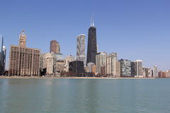 Chicago North Side in Summer. Stock Photos