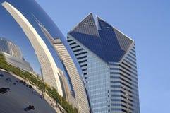 Chicago, o feijão Imagens de Stock