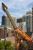 Chicago o Hard Rock Café Fotografia de Stock Royalty Free