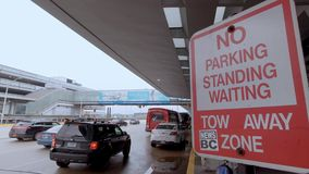Chicago O Hare Airport Passenger Drop off - CHICAGO, USA - JUNE 20, 2019