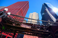 Chicago o laço Fotos de Stock