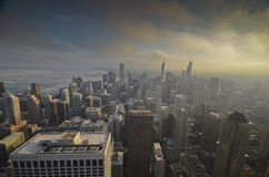 Chicago od above Zdjęcie Royalty Free