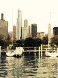 Chicago od odległości Zdjęcie Royalty Free