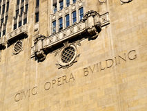 Chicago Opera Building Royalty Free Stock Image