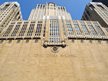 Chicago-Operen-Gebäude Stockfoto