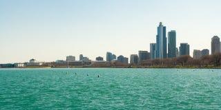 Chicago-Panorama Lizenzfreies Stockbild