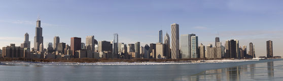 Chicago Panorama Stock Photos
