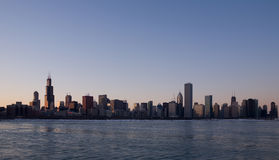 Chicago Panorama Royalty Free Stock Images