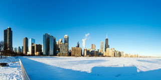 Chicago Panorama Stock Images