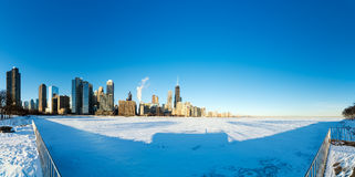 Chicago Panorama Stock Image